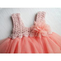 how to make a tutu dress with crochet top - Google Search