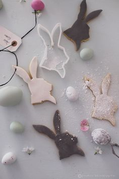 Would be cute as White Rabbit cookies.