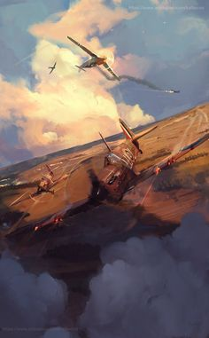 «Battle in air» by Mateusz Michalski