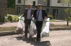 Medicines are seized during the raid on the illegal pharmacy in Leith