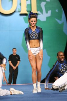 Cheer Athletics, competitive #cheer, cheerleading, cheerleader during routine #KyFun