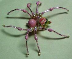 Make your own sparkling spider | Needlework News | CraftGossip.com