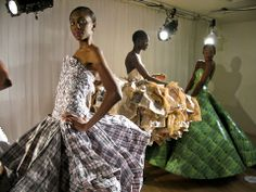 Recycled Couture at NY Fashion Week
