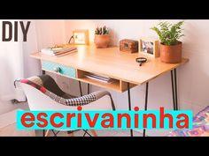 DIY - ESCRIVANINHA INDUSTRIAL | Reforma Kitnet - YouTube