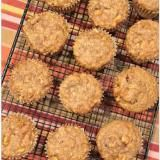 Linked to: jennsrandomscraps.blogspot.ca/2016/10/apple-walnut-banana-breakfast-muffins.html