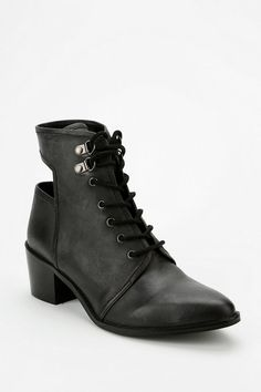 Ecote Cutout Lace-Up Ankle Boot #urbanoutfitters