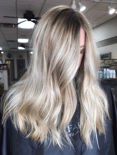 Icy blonde Icy Blonde, Blonde Balayage