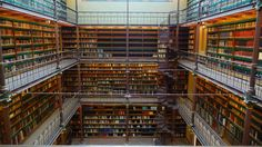 Because Amsterdam is filled with library porn. | 46 Reasons You Should Never Leave Amsterdam