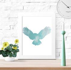 40% OFF best seller bird best seller teal dorm by LUCIAandLUCIANA