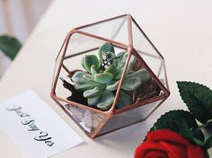 All weddings are perfect; but the ones that combine nature and modern accents are our favorite! If you are a like-minded person, you can get a bit more closer to the perfection with this stylish geometric ring box, handcrafted just for you! This geometric ring bearer box is versatile enough to