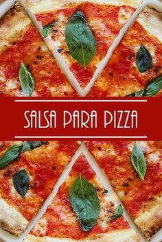 From our viewpoint, a pizza sauce should be very fragrant, constant and have a stability of flavors between the tomato Pizza Recipes, Veggie Recipes, Healthy Dinner Recipes, Vegetarian Recipes, Burrata Pizza, Barbacoa, Pizza Cones, Gluten Free Pizza, Salads