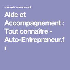 Aide et Accompagnement : Tout connaître - Auto-Entrepreneur.fr