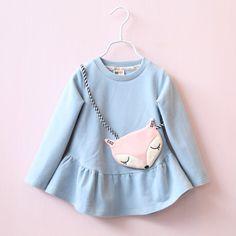 $10.00 (Buy here: https://alitems.com/g/1e8d114494ebda23ff8b16525dc3e8/?i=5&ulp=https%3A%2F%2Fwww.aliexpress.com%2Fitem%2FChildren-kids-dresses-girl-new-pattern-long-sleeve-dress-fox-kids-dress-baby-children-autumn-dress%2F32743991146.html ) New Fashion Children Kids Dresses With Bag Girl New Pattern Long Sleeved Dress Fox Baby Kids Dress Infant Autumn Dress for just $10.00