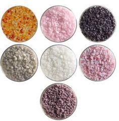 Be My Valentine Designer Collection - 90 COE, Bullseye Glass Coarse Frit Sampler Pack