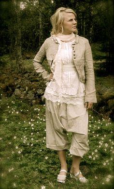 Harem pants - Anemone