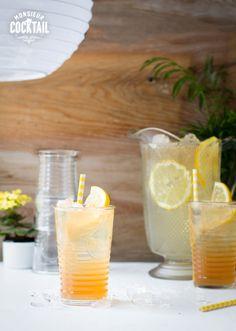 Cette limonade est le rafraîchissement numéro un au Kentucky, et nous aussi nous ne pouvons nous en passer! Le feu du bourbon est tempéré grâce au citron et au miel, et le gingembre pétillant rend l'été absolument parfait.