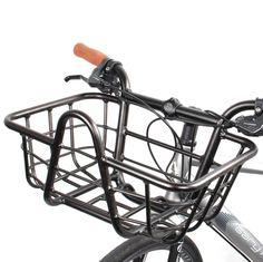 Hawley Evo - Handlebar Basket 25.4mm - Blk Handlebar w/ Built On Basket