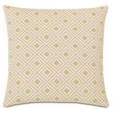 Found it at Wayfair - Downey Cyrus Straw Throw Pillow