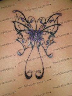 tribal butterfly tattoo_01 by Allykj1, via Flickr