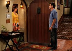Charlie Sheen and Melanie Lynskey in Two and a Half Men Two Half Men, Two And A Half, Half Man, Two Men, Beachfront House, Charlie Sheen, Image Icon, Man Images, Man Photo