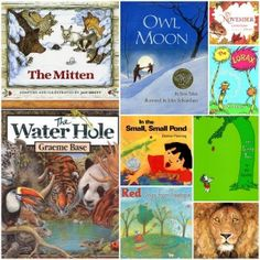 Outdoor books you can read to your child from outsidemom.com