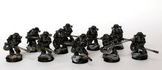 Showcase: Pre-Heresy MKIII Dark Angels with Autocannons - Tale of Painters