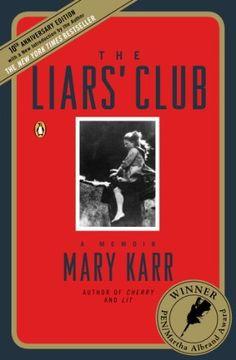 The Liars Club: A Memoir by Mary Karr, http://www.amazon.com/dp/B008LY24II/ref=cm_sw_r_pi_dp_5oyJrb0HAY90K $12.99