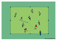 http://www.top-soccer-drills.com/3v3-plus-3-possession.html #youthsoccerdrills