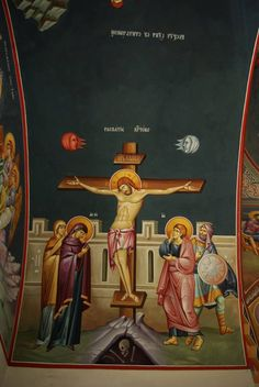 #orthodox #icons Holy Week, Sf, Orthodox Icons, Vignettes, Scene, Painting, Painting Art, Paintings, Paint