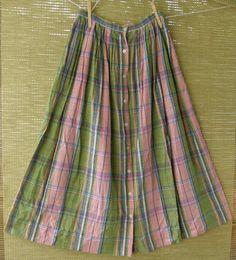 Blue Label 80's era Ralph Lauren plaid skirt - reminds me of a picnic!  R.L. Vintage (it's on Etsy / pattysoblessed).