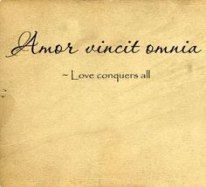 Love Conquers All / Tattoos on imgfave Latin Tattoo, Latin Quote Tattoos, Phrase Tattoos, Latin Quotes, Good Tattoo Quotes, Top Quotes, Hip Tattoos, Henna Tattoos, Temporary Tattoos