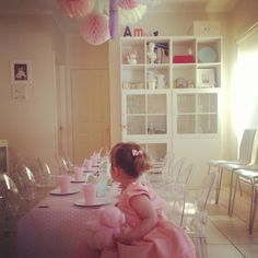Pink | 2nd Birthday Party Using Miniature Louis Ghost Chairs | Kartell  Loves Colours | Pinterest | Ghost Chairs
