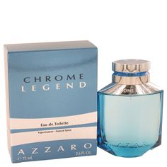 Chrome Legend  2.6 oz Cologne By Azzaro for Men