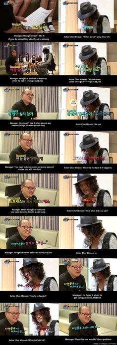 Becoming Hongki's manager XD!!!   allkpop Meme Center