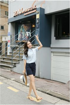 Double 4 Slacks | Korean Fashion