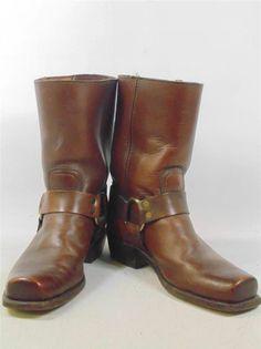 Frye Boots Harness Size 8 215 | eBay