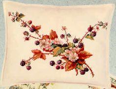 Blackberries Cushion kit (cross stitch) (Special Order)
