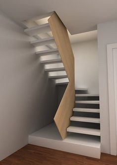 ideas stairs architecture plan for 2019 Open Stairs, Metal Stairs, Loft Stairs, House Stairs, Spiral Stairs Design, Staircase Design, Metal Barn Homes, Pole Barn Homes, Casa Loft