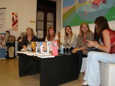 Camucha Escobar en la Noche de los Museos, 19 de Noviembre Giras Literarias Argentinas en Pergamino, Biblioteca Menéndez