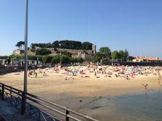 Aquello días de verano en la playa de A Ribeira, Baiona #riasbaixas