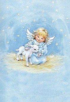 Vintage Christmas Cards, Christmas Images, Christmas Angels, Christmas Art, Vintage Cards, Angel Images, Angel Pictures, Angel Clipart, Angel Illustration