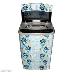 Appliance Covers E-Retailer™ Polyester Cotton Top Load Washing Machine Cover (Size : Suitable For 6 KG to 7.5 KG, Color :Blue)   Material: Polyester Capacity: 6 To 7.5 kg Size(L X W X H): 23 in x 35 in x 22 in  Description: It Has 1 Piece Of Top Load Washing Machine Cover Work: Printed Sizes Available: Free Size *Proof of Safe Delivery! Click to know on Safety Standards of Delivery Partners- https://ltl.sh/y_nZrAV3  Catalog Rating: ★4.1 (4332)  Catalog Name: Free Mask Colorful Classy Top Load Washing Machine Covers Vol 19 CatalogID_521688 C131-SC1624 Code: 662-3731968-