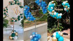 Balloon Arch Diy, Baby Balloon, Balloon Columns, Baby Shower Balloons, Balloon Garland, Balloon Stands, Balloon Holders, Wedding Decoration Supplies, Birthday Balloon Decorations