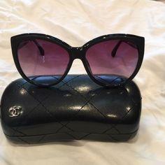 Chanel sport sunglasses Good condition CHANEL Accessories Sunglasses