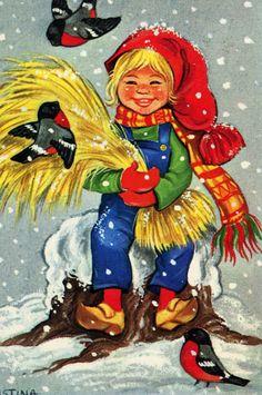 ˇˇ Norwegian Christmas, Disney Characters, Fictional Characters, Christmas Cards, Images, Bird, Disney Princess, Animals, Ph