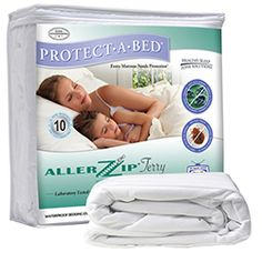 AllerZip Terry Mattress Encasement