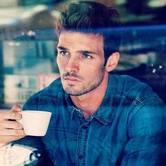 Handsome Men and Coffee for a Perfect Day Men Coffee, Coffee Time, Cuppa Joe, Morning Joe, Saturday Morning, Morning Coffee, Coffee Instagram, Awesome Beards, Coffee Drinkers
