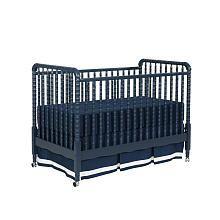 Jenny Lind Crib, Navy Blue