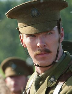 "Ben C. as Major Jamie Stewart in ""War Horse""."