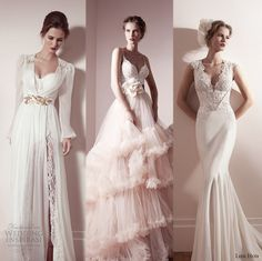 Our editor's top #wedding dress picks from Lihi Hod Spring 2013 #Bridal Collection.   More at http://www.weddinginspirasi.com/2014/07/02/lihi-hod-spring-2013-wedding-dresses/  #weddingdress #weddings #weddingdresses #editorspicks
